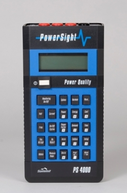 Power Quality Analyzer model PS4000 PowerSight