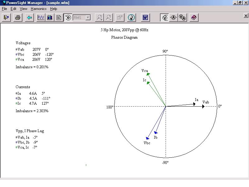 Portable Power Meter  Harmonic Analyzer  Voltage Monitor