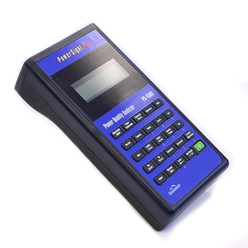 PS4500 Power Quality Analyzer: Cat IV Safety, SD card, Bluetooth